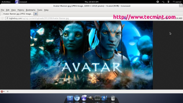 Avatar Created Using Linux