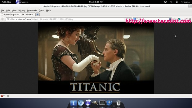 Titanic Created Using Linux