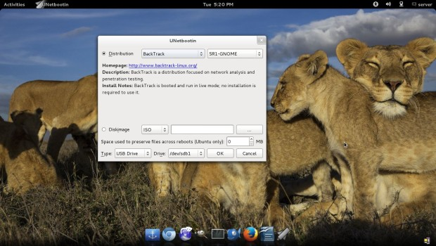 Install Linux from USB Device or Boot into Live Mode Using