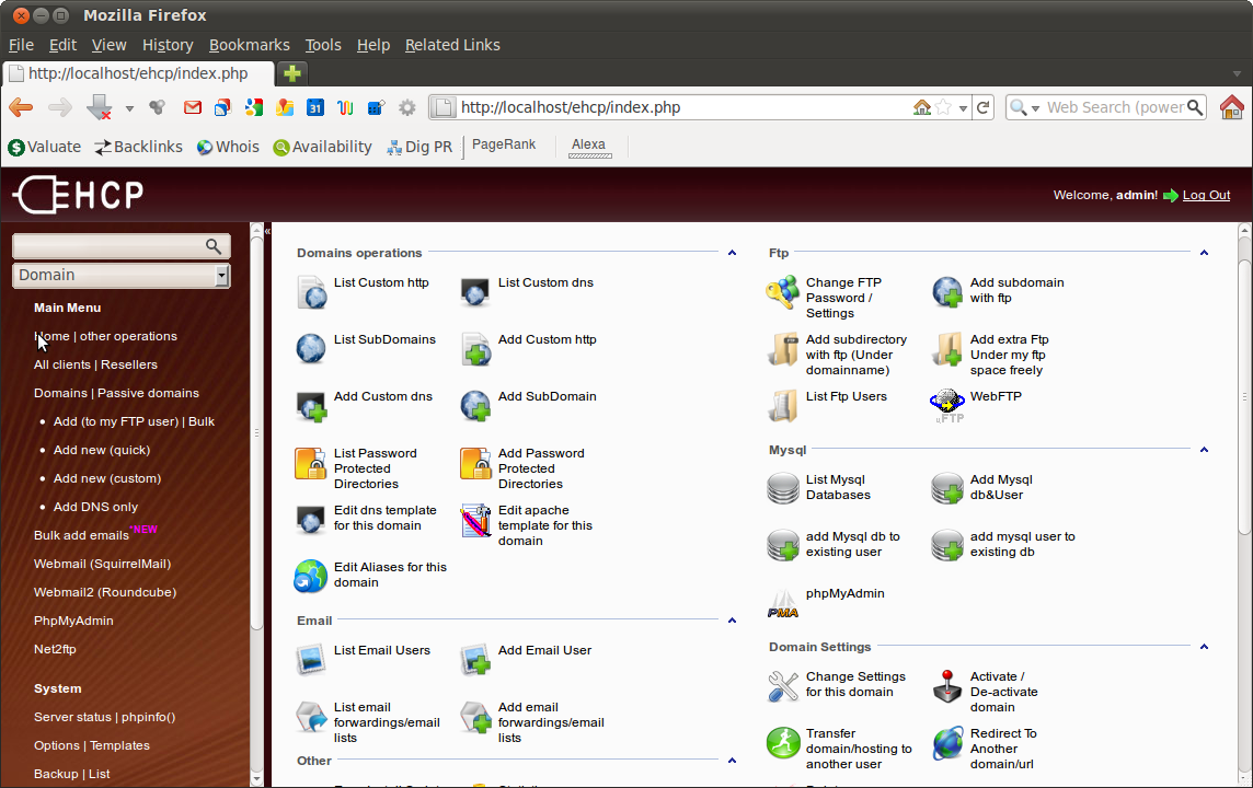 21 Open Source/Commercial Control Panels to Manage Linux Servers