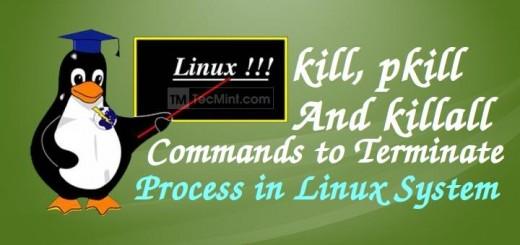 Kill Command Examples