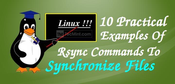 Sync Files Using rsync