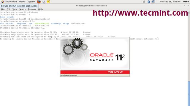 Oracle Universal Installer – Tecmint: Linux Howtos, Tutorials & Guides