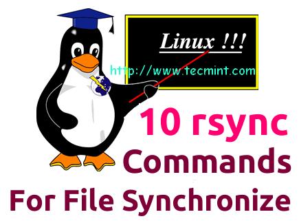 Rsync Commands