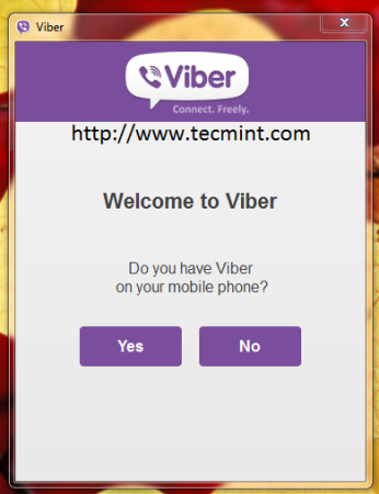 Welcome to Viber