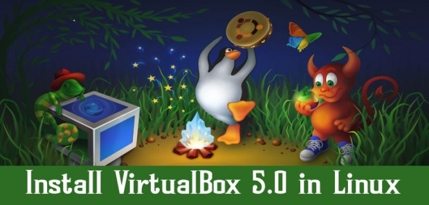 Install VirtualBox 5.0 in Linux