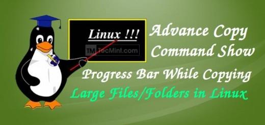 Linux Advance Copy Command