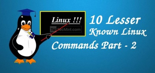 Linux Less Known Commands