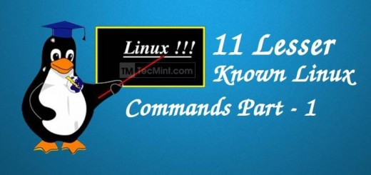 Linux Less Used Commands