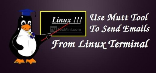 Send Mail From Linux Terminal