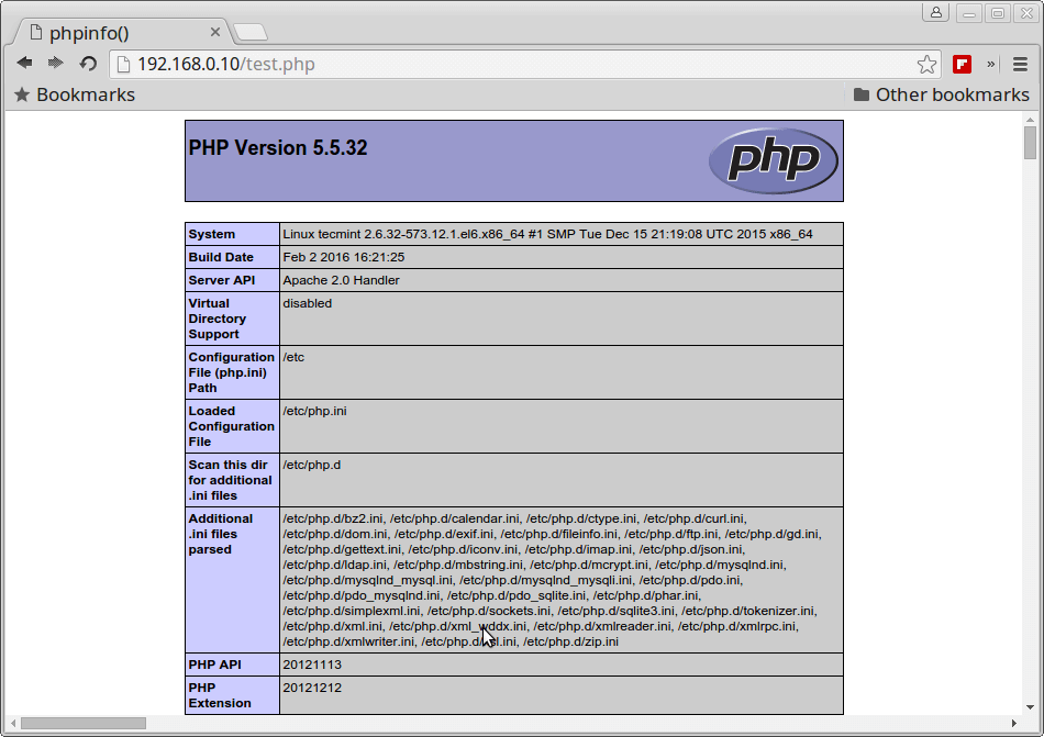 PHP 5 5 Version on CentOS 6.6