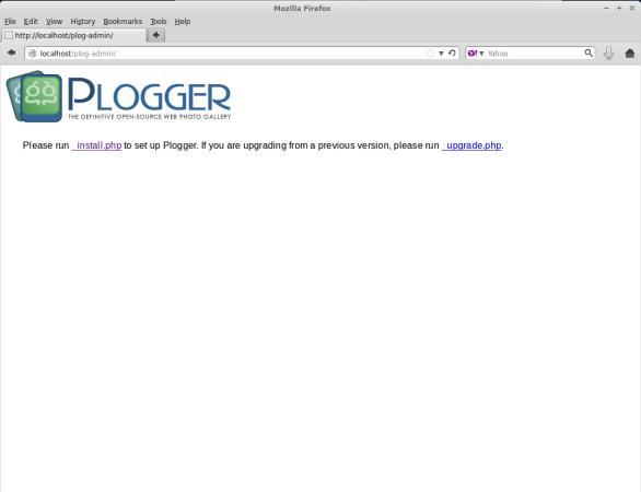 Plogger Install Script