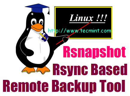 Install rsnapshot backup in Linux