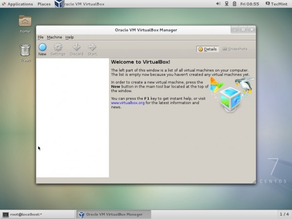 VirtualBox 5.0 on CentOS 7