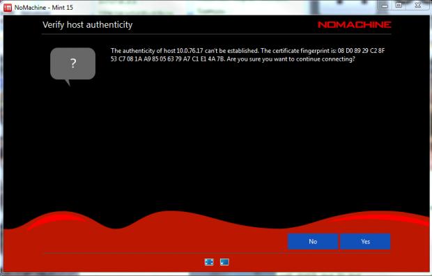 Verify Host Authenticity