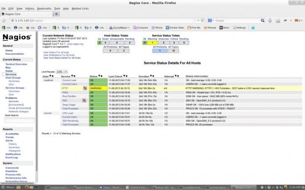 Nagios Remote Host Monitoring