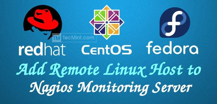 Add Linux Host to Nagios Monitoring