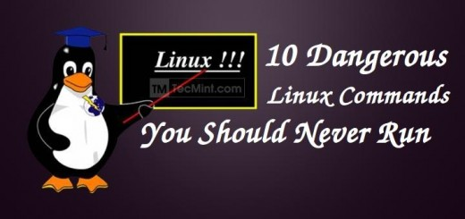 Dangerous Linux Commands