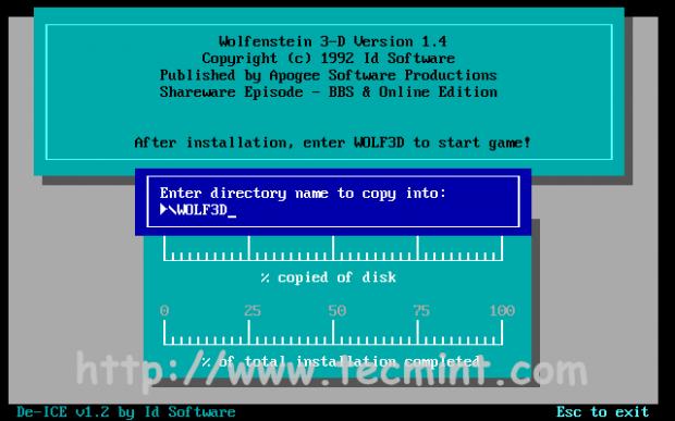 Install Wolfenstein 3D
