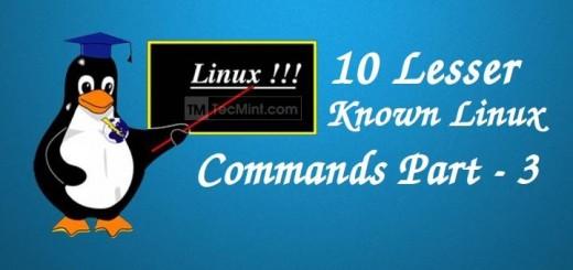 Less Known Linux Commands