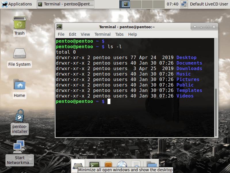 Pentoo Software Updates