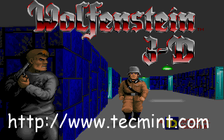 Start Wolfenstein 3D
