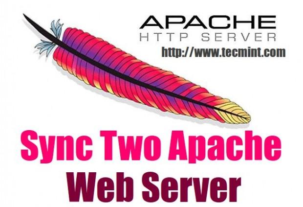 How to Sync Two Apache Web Servers/Websites Using Rsync