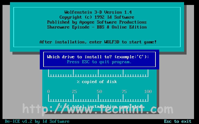 DOSBox - Runs Old MS-DOS Games/Programs in Linux