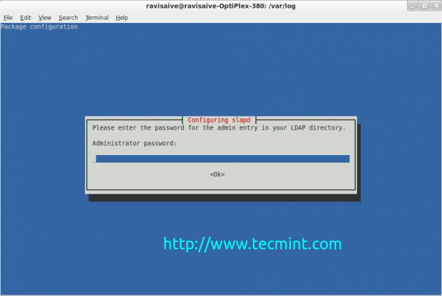 Set OpenLDAP Admin Password