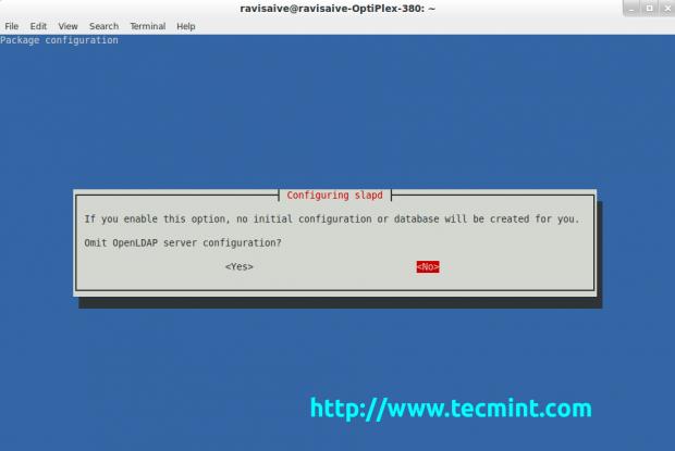 Configure Ldap Server