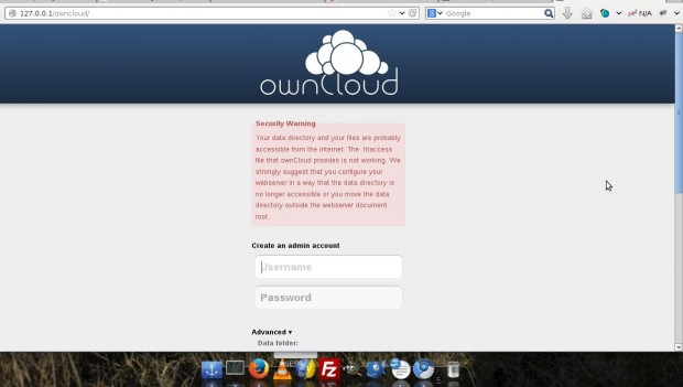 ownCloud Configuration