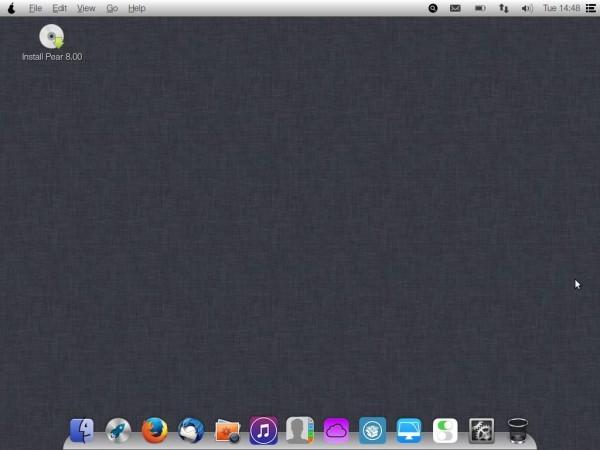 Pear OS 8 Live Desktop