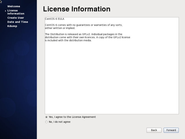 CentOS 6.10 License Agreement