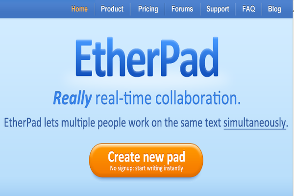 Install Etherpad in Linux