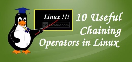 Linux Chaining Operators Commands
