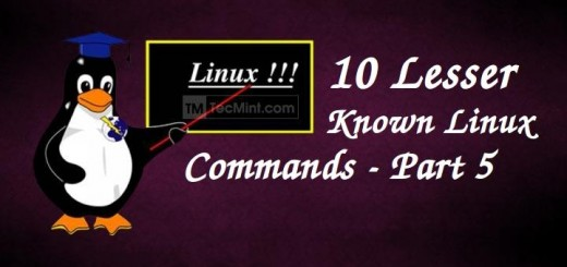 Linux Lesser Known Commands