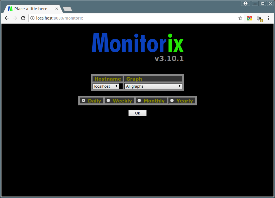 Monitorix Homepage