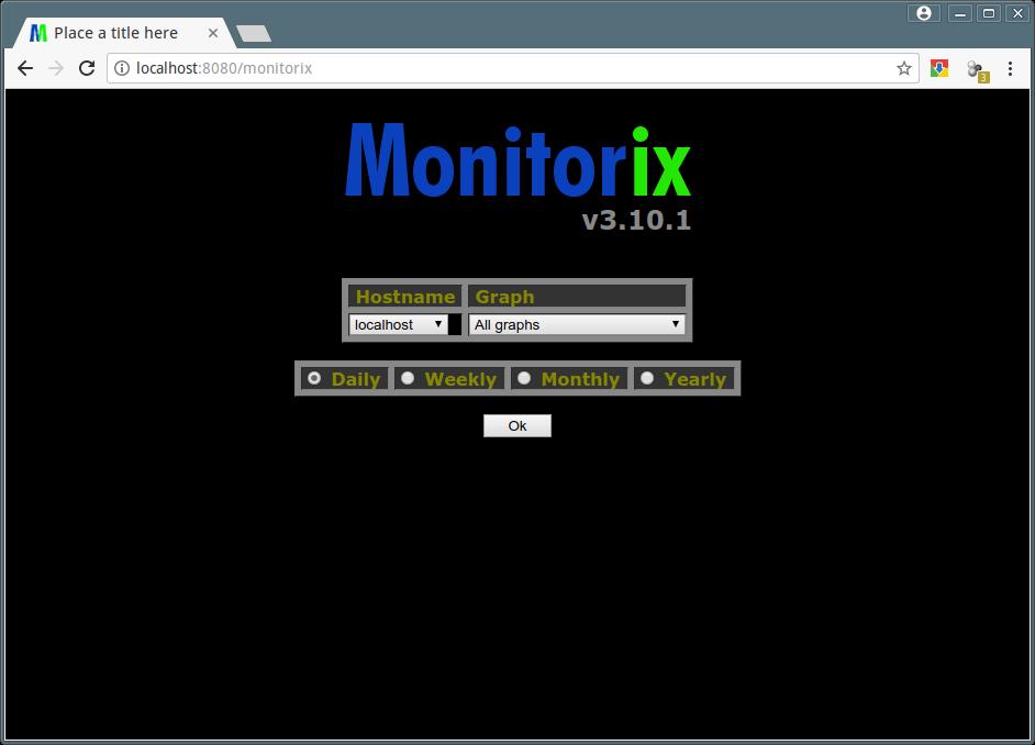 Monitorix Homepage