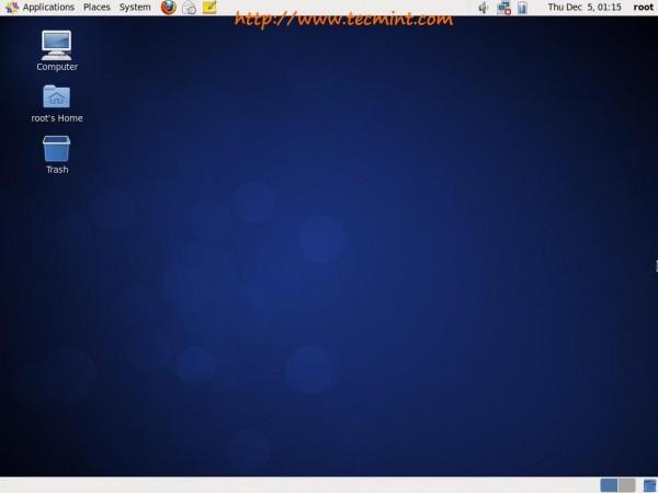 CentOS 6.5 Desktop