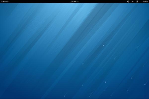Fedora 20 Desktop