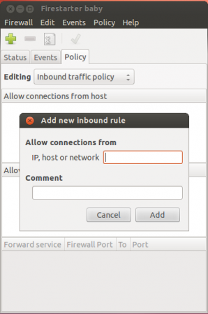 Allow Connections From Host