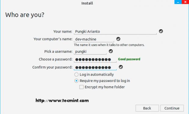 Submit User Information