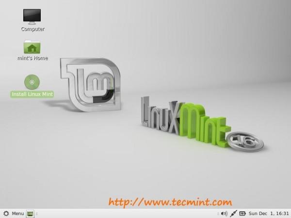 Install Linux Mint