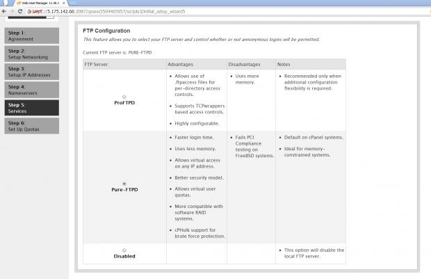 FTP Configurationq
