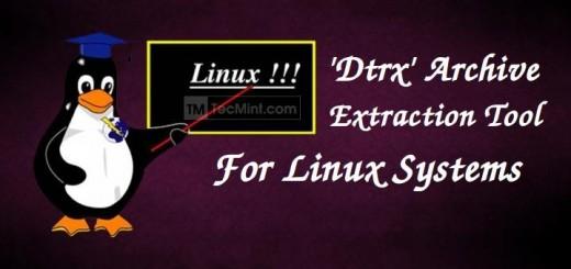 Dtrx Linux Archive Tool