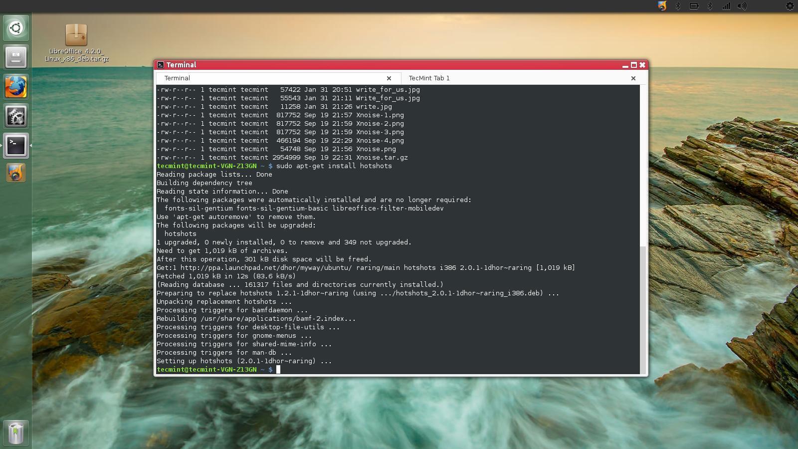 beautiful terminal emulator