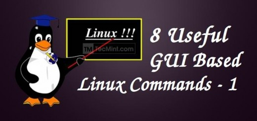 Linux Gui Commands