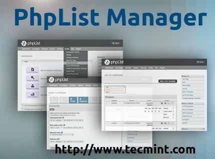 Install phpList in Centos