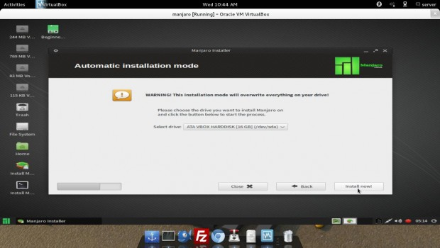 Automatic Installation