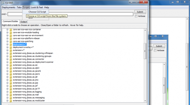 Creating Cli Script